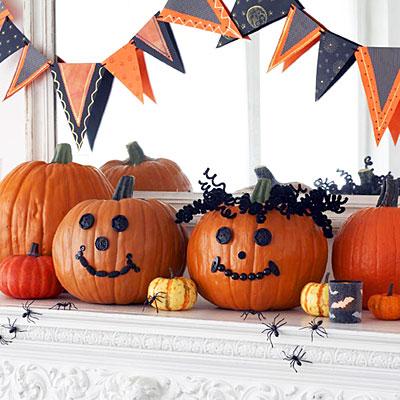 Como decorar una calabaza para halloween - Decorar una calabaza de halloween ...
