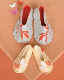 Como hacer zapatillas de fieltro