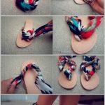 Sandalias faciles de decorar a tu gusto