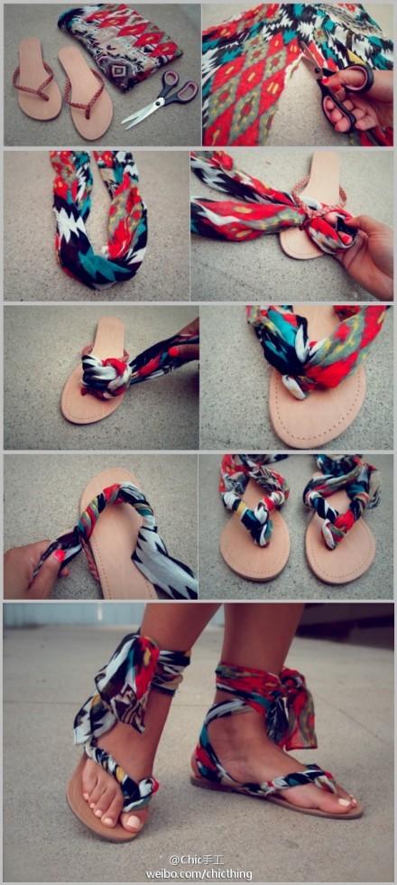 Como decorar unas sandalias imagui - Como decorar unas ...