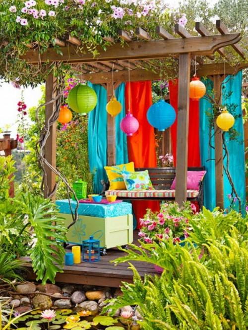 Como decorar un jard n con poco dinero pictures to pin on - Decorar el jardin con poco dinero ...