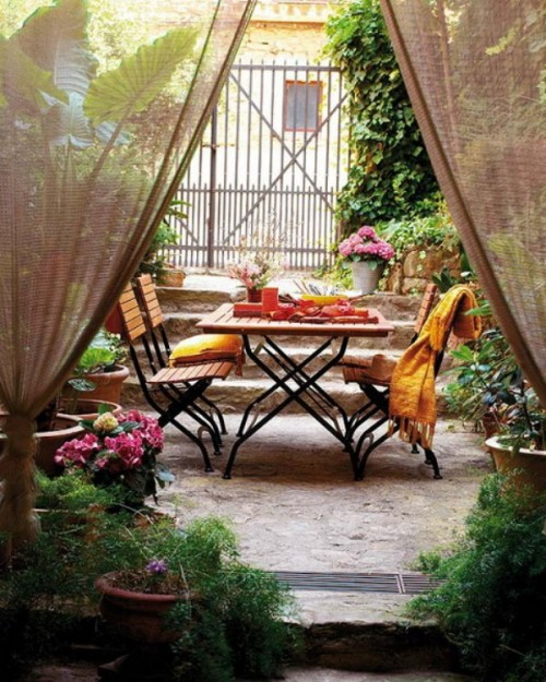 Small apartment patio decorating ideas apartment design - Como adornar un jardin ...