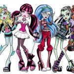 Fabulosas imagenes para imprimir de las Monster High