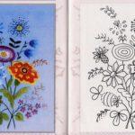 patrones para bordar flores mano2