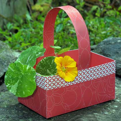 Como hacer una canasta para cumpleaños - Imagui