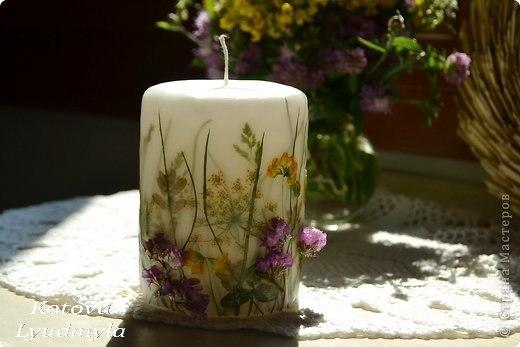 Ideas para decorar velas con flores naturales - Ideas para decorar velas ...