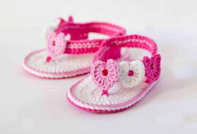 e4b4ac290 Molde para hacer sandalias para bebe a crochet