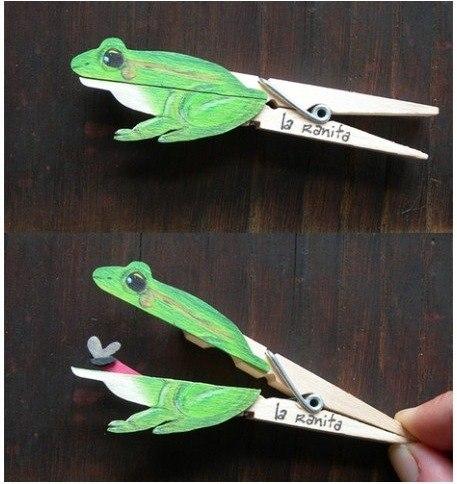 Como hacer divertidas figuras con pinzas de madera (2)