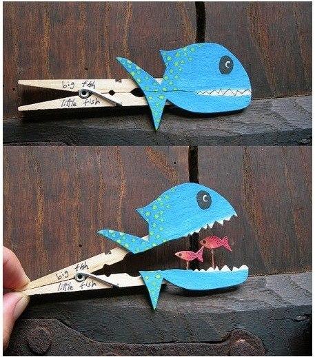 Como hacer divertidas figuras con pinzas de madera (4)