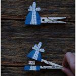 Como hacer divertidas figuras con pinzas de madera