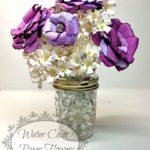 ¿Como hacer macetas de flores con periodico?
