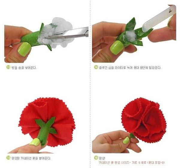 Como Hacer Una Flor Clavel De Papel | Apps Directories