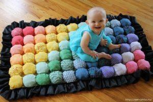 Como hacer una colchoneta para bebes