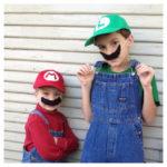 Disfraz de Mario bros y Luigi para halloween