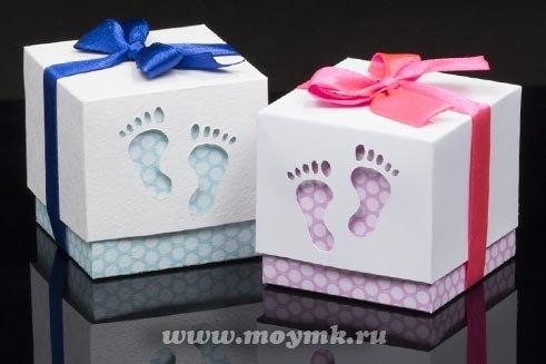 Molde Para Hacer Cajas De Regalo Para Baby Shower 1