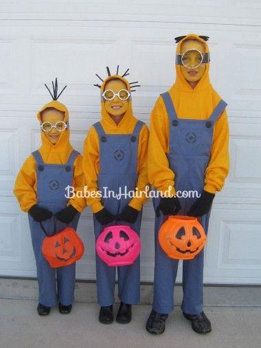 disfraces de los minions para halloween 1
