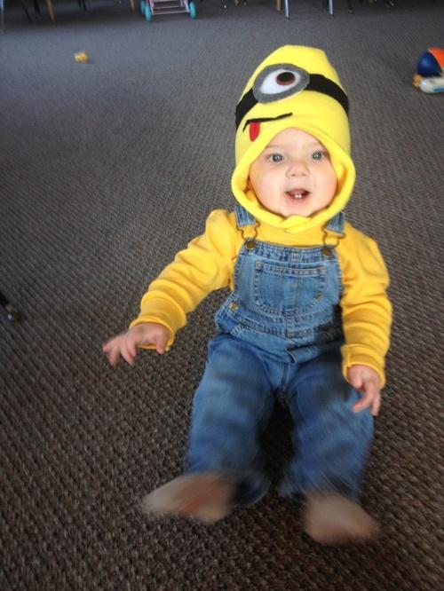disfraz de minion para bebe