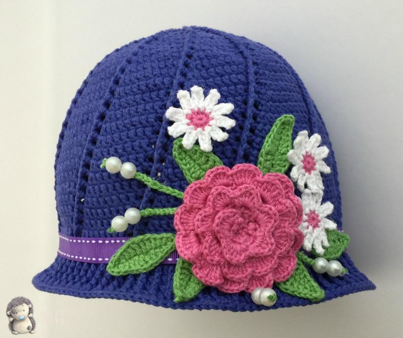 Patrones de gorros a crochet gratis