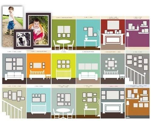 16 ideas de como colgar cuadros - Sistemas para colgar cuadros ...