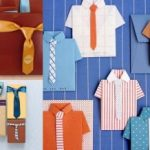 Camisas de papel con plantillas