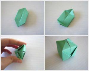 Como hacer cubos de origami paso a paso - Como hacer figuras de fieltro paso a paso ...