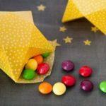 Como hacer un dulcero con forma de estrella fugaz