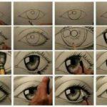 Dibujar ojos realistas paso a paso