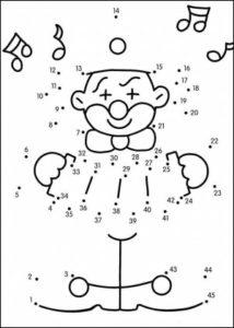 Dibujos uniendo puntos para imprimir (10)