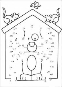 Dibujos uniendo puntos para imprimir (5)