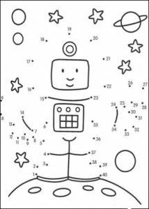 Dibujos uniendo puntos para imprimir (6)