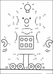Dibujos uniendo puntos para imprimir (9)