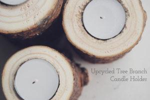 Hacer candelabro de arbolitos de navidad reciclados