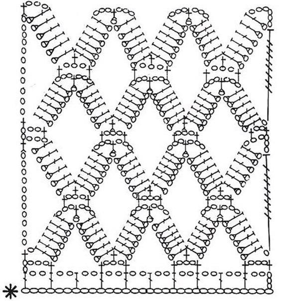 Patron para hacer una blusa a crochet