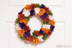 Tutorial para hacer una corona con hilos de colores