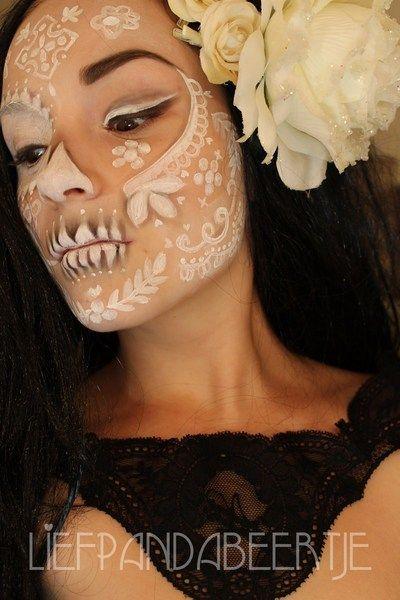 maquillaje de catrina para halloween3