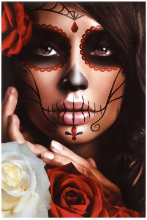 maquillaje de catrina para halloween4