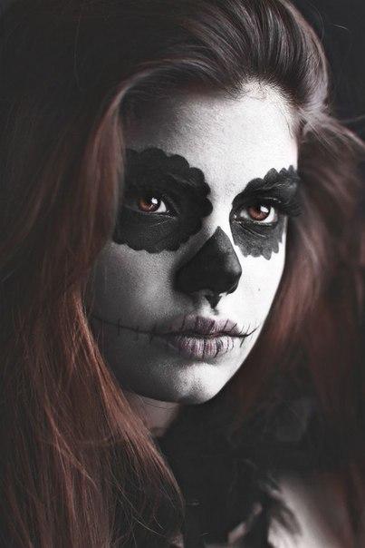 maquillaje de catrina para halloween5