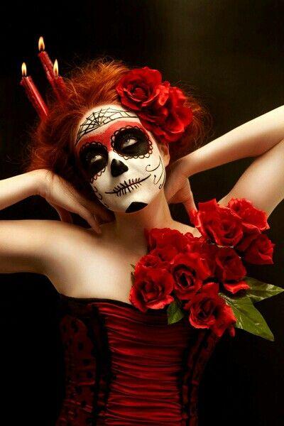 maquillaje de catrina para halloween7
