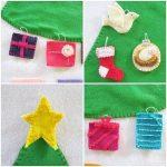 Adornos de navidad caseros con fieltro