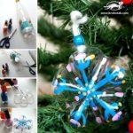 Adornos de navidad caseros con material reciclable