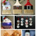 Adornos de navidad con material reciclable