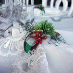 Anillos para servilletas de tela para navidad