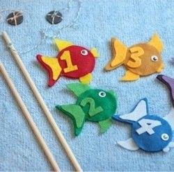 Moldes de peces de fieltro (1)