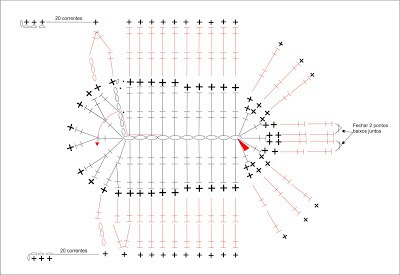 c5120dccb Sandalias tejidas a crochet con patrones-3