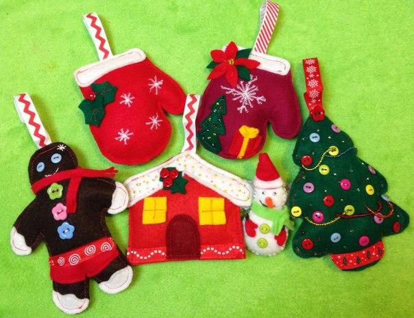 Patrones para broches fieltro aprender manualidades - Manualidades con fieltro para navidad ...