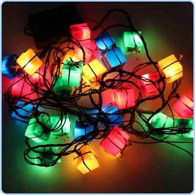 Cajitas de luz para navidad