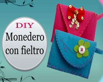 Como hacer un bolso de fieltro paso a paso - Manualidades de fieltro paso a paso ...